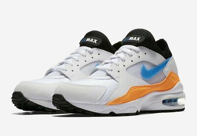 655cffee22 NIKE AIR MAX 93 Blue Nebula Men's Shoes [Size 11.5] White/blue ...