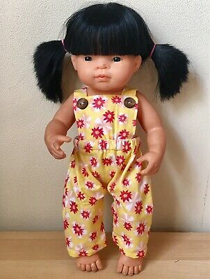 Miniland Doll clothes Overalls For 38cm Doll