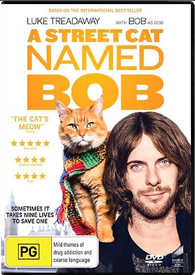 A Street Cat Named Bob (DVD, 2017) NEW