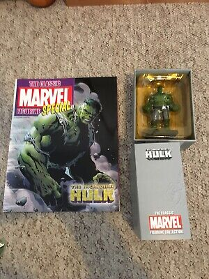 Eaglemoss The Classic Marvel Collection Figurine The Incredible Hulk Special