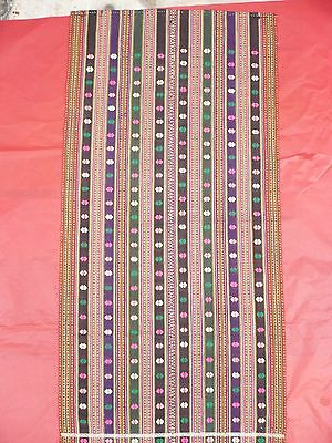Old Antique  Colourful Apron From Thraki  North Greece Beggining Of 19Th Century