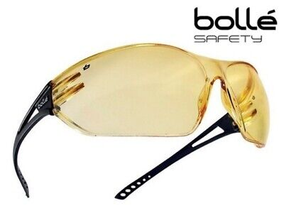 Bolle Slam Yellow Tinted Lens Safety/Cycling/Sports Glasses Specs (SLAPSJ)