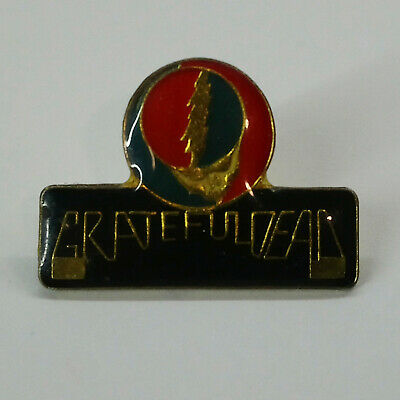 "Vintage Button Pin Badge Grateful Dead ""steal Your Face"""
