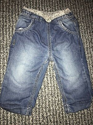 F&F Tesco Baby Boy Clothes Trousers Jeans 6-9 Months