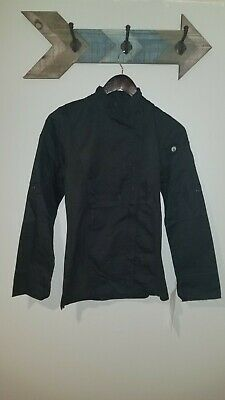 NEW Chef Works LONSLEEVE CHEF'S COAT JACKET XS