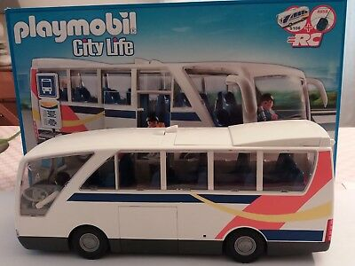 Bus Sa City 5106 Playmobil Avec Boite Life On0wk8P