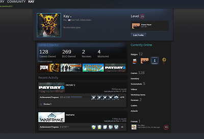 steam account with gta 5 for sale