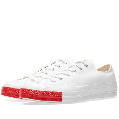 6b2163f2f21d Converse X Undercover Chuck Taylor 70 Low White Red UK 10 US 10 EUR 44 All