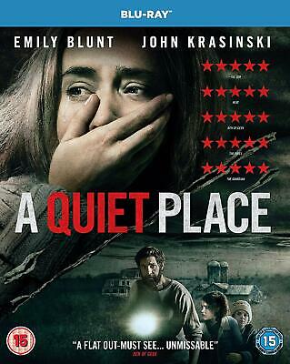 A Quiet Place Blu-ray Emily Blunt Brand NEW Sealed 5053083154004