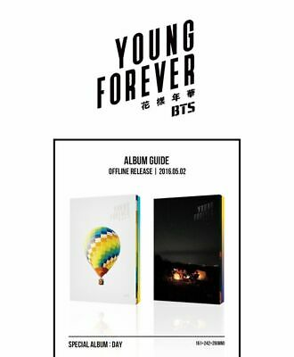 Bts - Young Forever, Special Album: Full Package + Tracking Num, Sealed