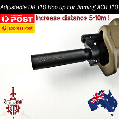 Upgrade Jinming ACR J10 Hop Up 7-8mm Gel balls Blaster DK J10 Hopup 3D Print OZ