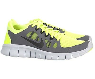 official photos 6b476 8d18a NIKE Free 5.0 Running Shoes GS NIB Select Kids Youth Size 4Y EUR 36 VOLT  Gray