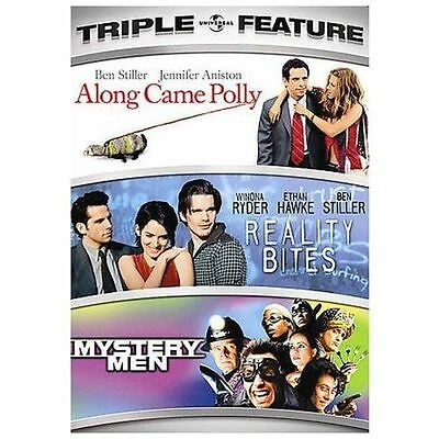 Along Came Polly/Reality Bites/Mystery Men (DVD, 2008, 3-Disc Set) BRAND NEW