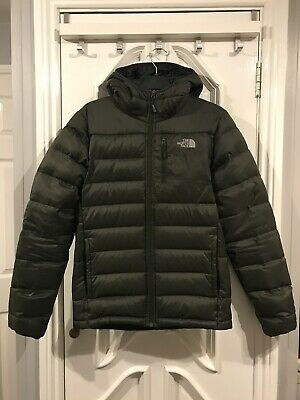 THE NORTH FACE Aconcagua Jacket Coat Small S Khaki Green