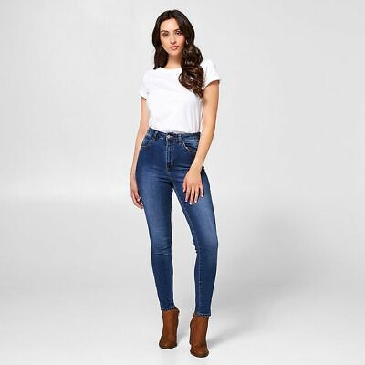 NEW Lily Loves High Rise Jeans - Mid Wash