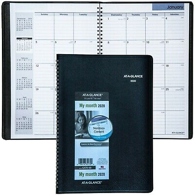 """2020 At-A-Glance DayMinder G470, G470-00 Monthly Planner 7-7/8 x 11-7/8"""""""