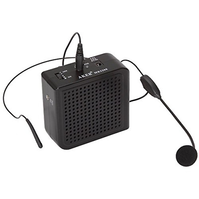 Aker Portable Voice Amplifier 16watts MR2200 For Costumes Props Electronic sound