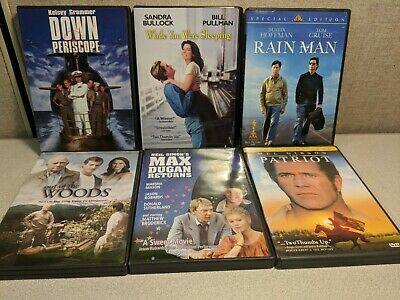 Assortment of 6 DVD's - Humor & Drama - Excellent Condition