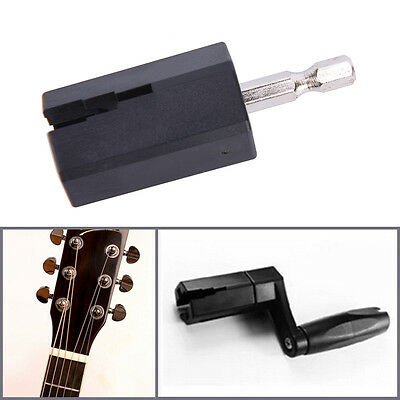 Acoustic Electric Guitar String Winder Head Tools Pin Puller Tool Accessories BW