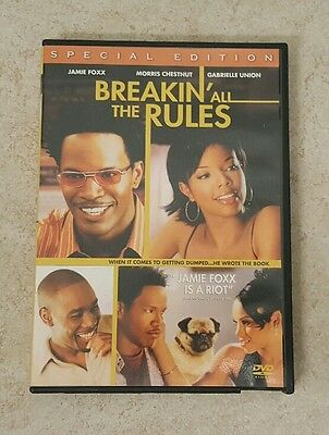 Breakin All the Rules (DVD, 2004, Special Edition) Jamie Foxx Gabrielle Union