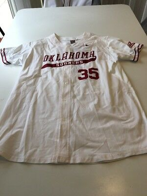 OKLAHOMA SOONERS OU game worn team issued jersey signed by Steven ... e35cf8e23