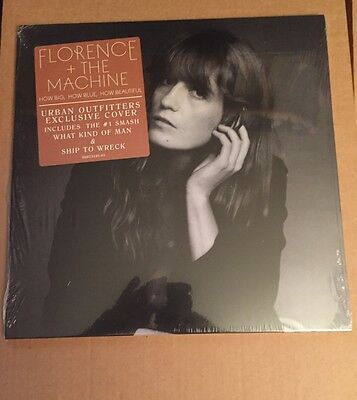 """Florence +The Machine """"How Big How Blue How Beautiful"""" Lp Special Edition Cover"""