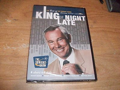 King of Late Night The Best of the Tonight Show With Johnny Carson (DVD 2007)
