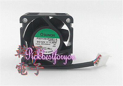 1pc SUNON PSD1204PQB1-A Server cooling fan DC12V 4.2W 40*40*28mm 4pin PWM MC2 QL