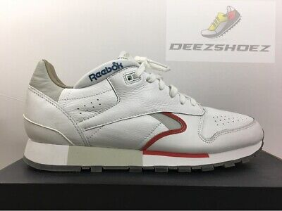 Reebok CLassic Leather CL Running Shooeos White Men's Us Size 10 CN0170