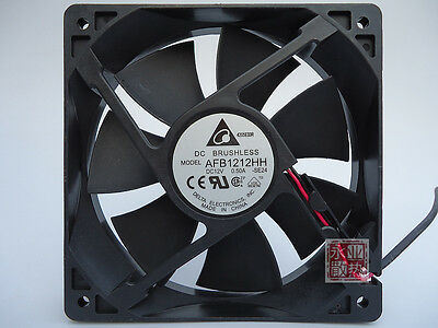 Delta AFB1212HH 12cm DC 12V 0.5A DC power supply Axial Cooling Fan #M2584 QL