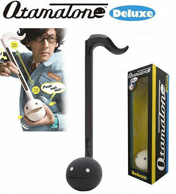 Otamatone Deluxe from Maywa Denki (Black ) Free Shipping from Japan