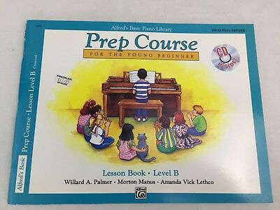 Alfred's Basic Piano - Prep Course - Lesson Book - Level B - With CD - (B)
