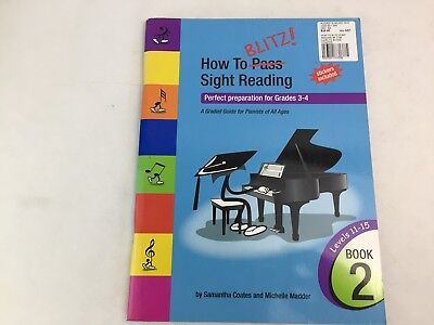 How to Blitz Sight Reading - Book 2 - Grades 3 - 4 - Samantha Coates - (C)