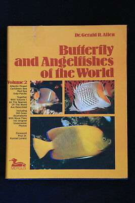 Butterfly and Angelfishes of the World Volume 2 angelfish atlantic caribbean +