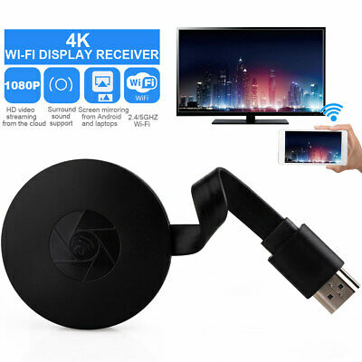 HD 1080P Chromecast 2nd Generation HDMI Video Digital Streamer Dongle TV Stick^