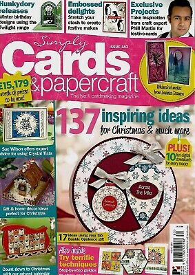 Simply Cards &  Papercraft  Magazine Issue 183.  2018   Free Bauble Set
