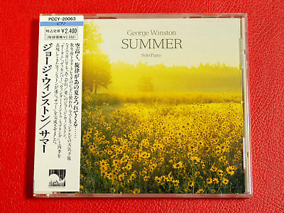 GEORGE WINSTON Summer PCCY-20063 JAPAN CD w/OBI 16867