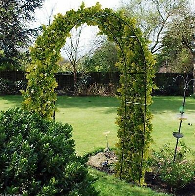 New Metal Steel Garden Arch Rose Plant Flower Climber Path Home Archway Arbour