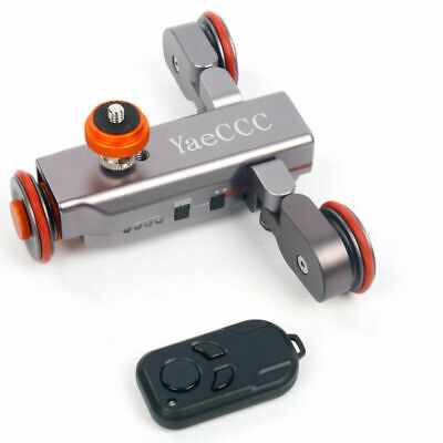 Autodolly Pro II Motorized Electric Track Slider Dolly Car for DSLR Camera New