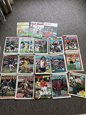 Shoot Match Weekly Roy Of The Rovers Ranging From 1971-87