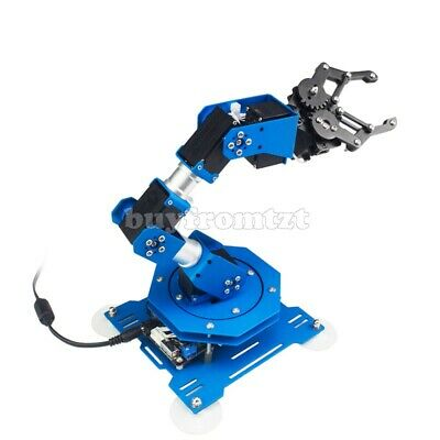 Standard Version 6DOF Robot Arm 6-Axis Robotic Arm +Servos Ready to Use Finished