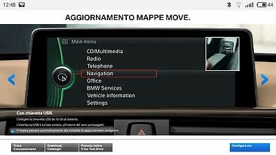 Bmw Road Map Europe Move 2018-2 + FSC Code (Download)