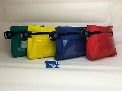 Small Cash Money Bag Pouch WIth Security Selable Locking 10 FREE SEALS