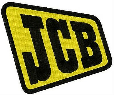 patch aufnaher toppa ecusson JCB