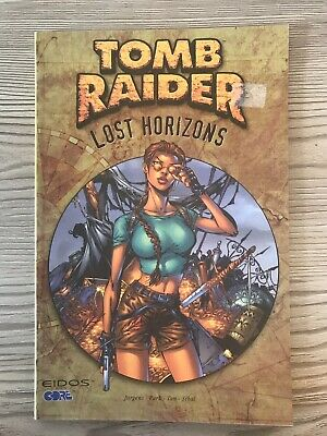 Tomb Raider: Lost Horizons: by Park, Andy Paperback Book 2001 First Print