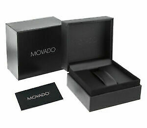 NEW Watches MOVADO Heritage White Dial Men's 3650008 Watch UK SELLER WARRANTY