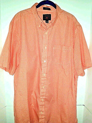 75c6e89be79 SADDLEBRED BIG   TALL-Easy Care Button Down Short Sleeve Shirt One Pocket
