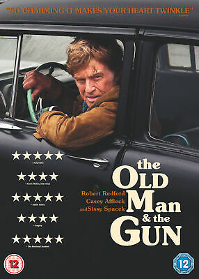 Old Man And The Gun [2018] (DVD) Robert Redford, Casey Affleck, Sissy Spacek