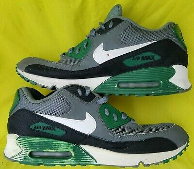 half off f96b0 9cc95 2013 Nike Air Max Size 12 US 90 Essential Premium Running Shoes 537384-013  GREEN