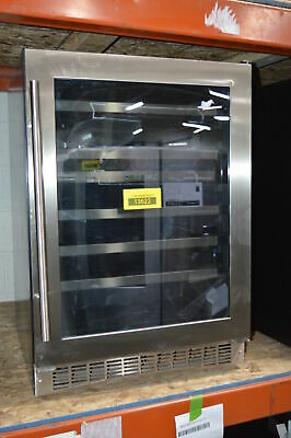 """Danby DWC053D1BSSPR 24"""" Stainless Built-In Wine Cooler NOB #13622 MAD"""